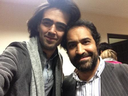 With Afshin Hashemi