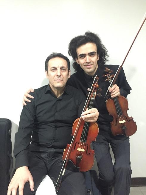 With Arsalan Kamkar