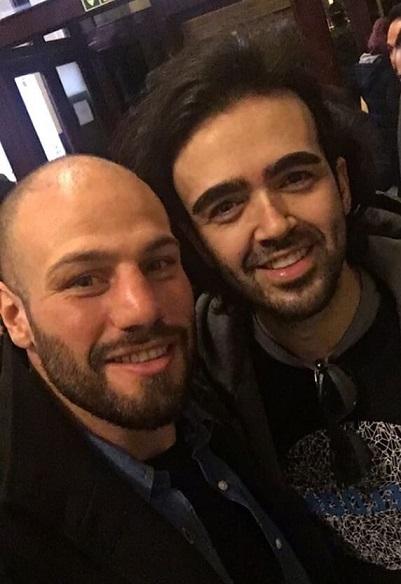 With Ehsan Roozbahani