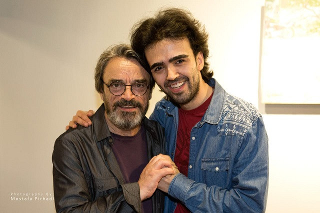 With Hossein Alizadeh