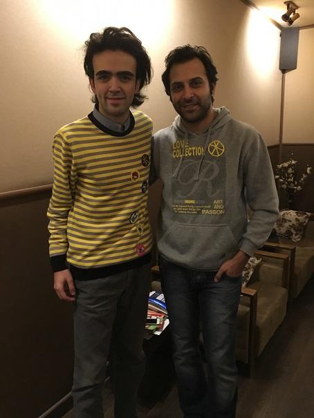 With Meysam Marvasti