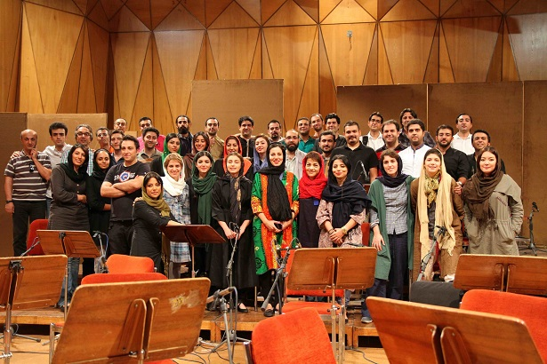 With Tehran Chamber Orchestra Pardis Project